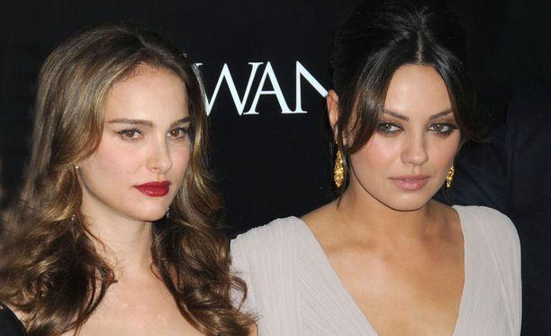 Natalie Portman ja Mila Kunis häikäisivät vuoden 2010 Black Swan -elokuvassa.
