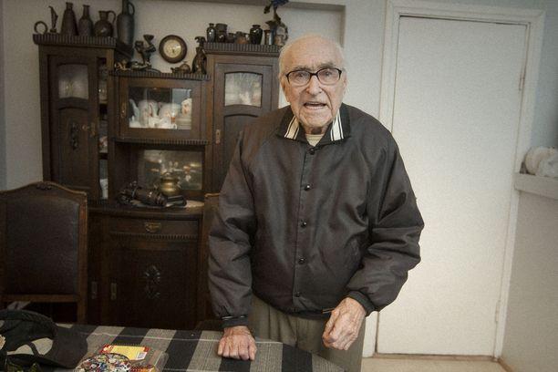 Otto Peters oli kuollessaan 99-vuotias.