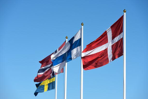 Pohjoismaissa työntekijät ovat suhteellisen onnellisia.