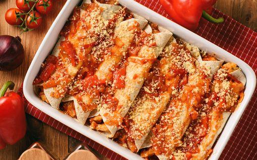 Mehevät enchiladat ovat superhelppo arkiruoka – tortillan maukkaampi serkku