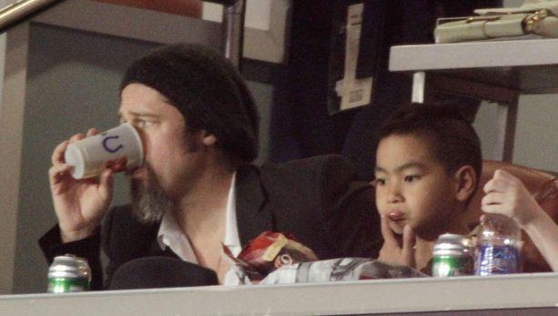 Brad Pittin ja Maddoxin välit eivät ole parhaat mahdolliset.