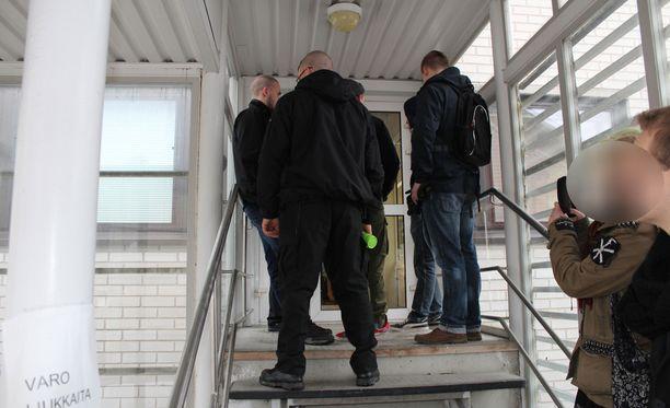 Tapauksen oikeuskäsittely alkoi Jyväskylässä maanantaina.