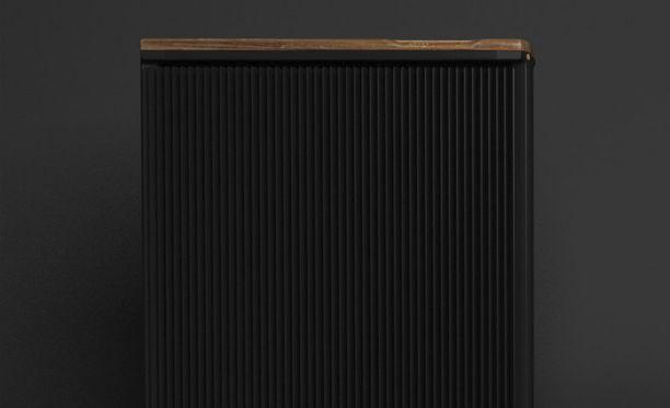 QC1 on lämpöpatterin muotoon rakennettu louhintayksikkö.