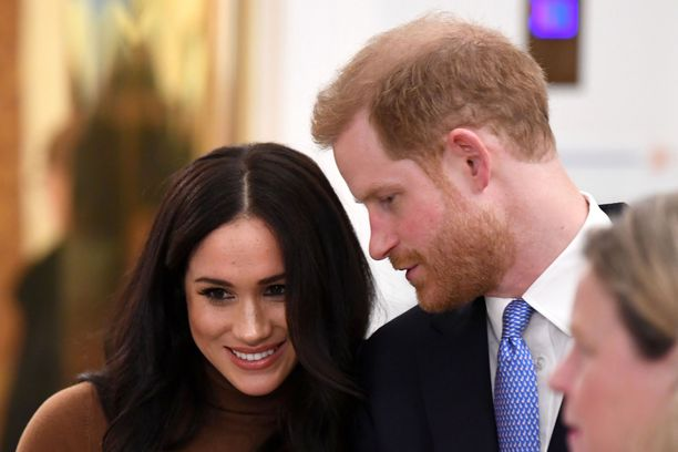 Meghan ja Harry totuttelevat uuteen elämään Britanniassa.
