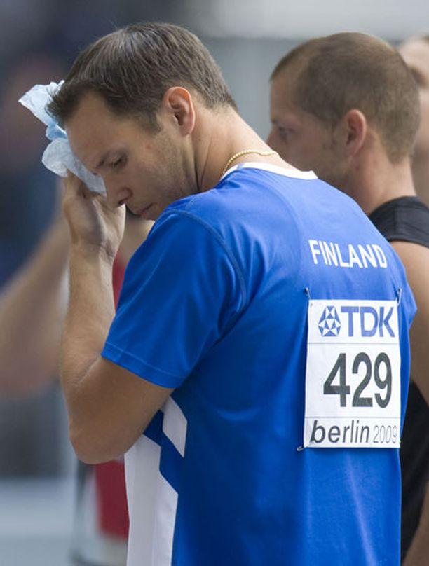 Tero Pitkämäen suoritus Berliinin MM-kisoissa oli pettymys.