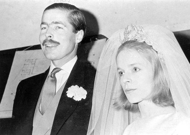 Pariskunta vihittiin vuonna 1963.