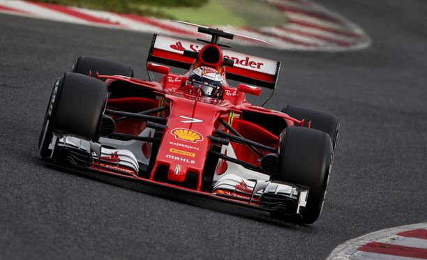 Kimi Räikkönen kellotti koko testien nopeimman kierroksen viimeisenä testipäivänä Montmelóssa.