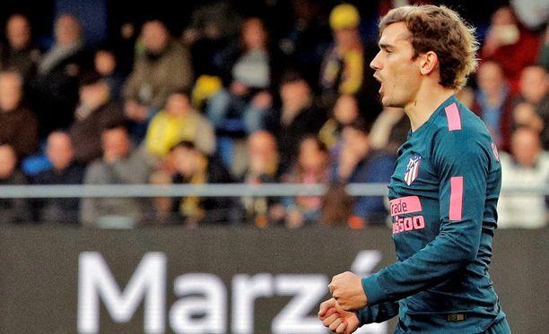 Antoine Griezmann juoni avausmaalin ja itselleen pelikiellon Deportivo-kamppailuun.