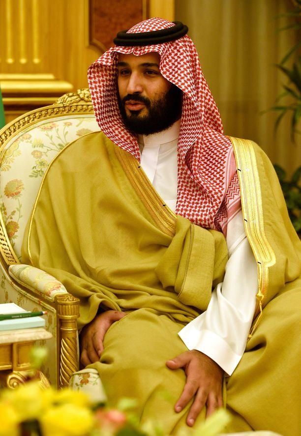 Mohammad bin Salman, alias MBS, on käytännössä Saudi-Arabian hallitsija.