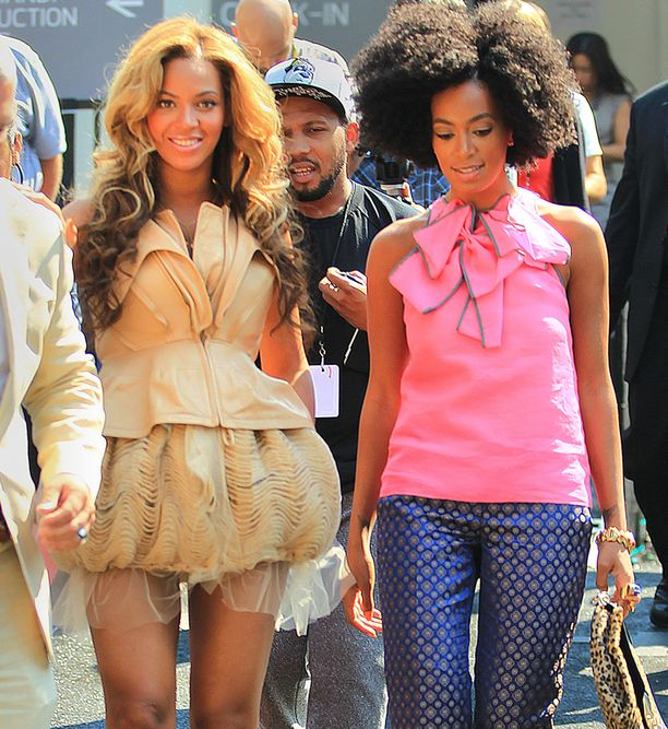 Byeoncé ja Solange Knowles