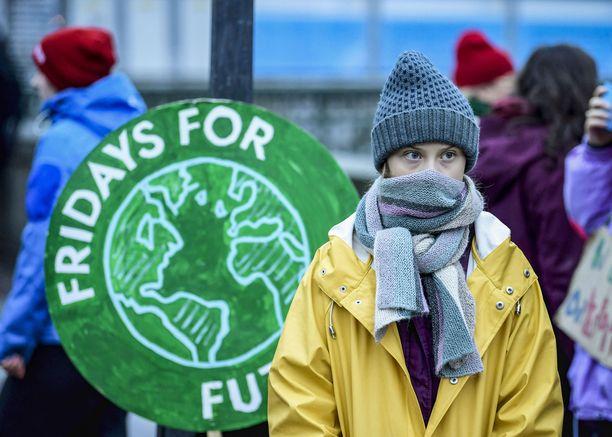 Greta Thunberg nousi julkisuuteen aloittamansa Fridays for Future -liikkeen myötä.