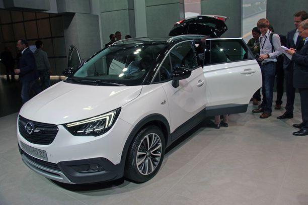Opel Crossland X rakentuu samalle tekniikalle kuin Peugeot 2008.