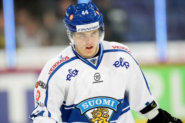 Ville Koistinen pelasi leijonapaidassa kolmet MM-kisat.