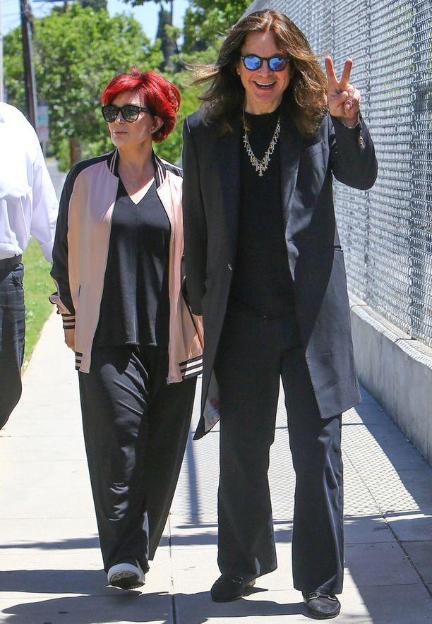 Sharon Osbourne ja Ozzy Osbourne ovat palanneet yhteen.