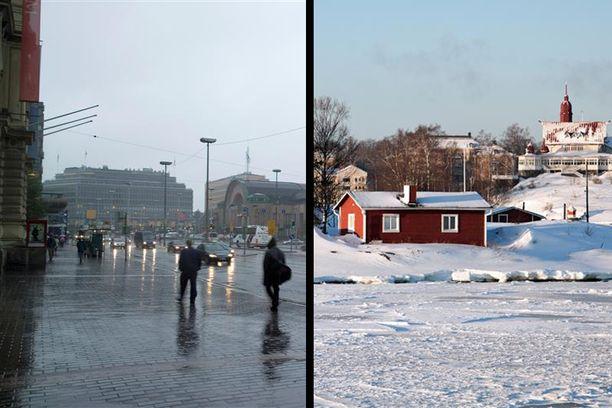 Moni Etelä-Suomessa asuva haaveilee talven ihmemaasta, mutta totuus on täysin toinen.