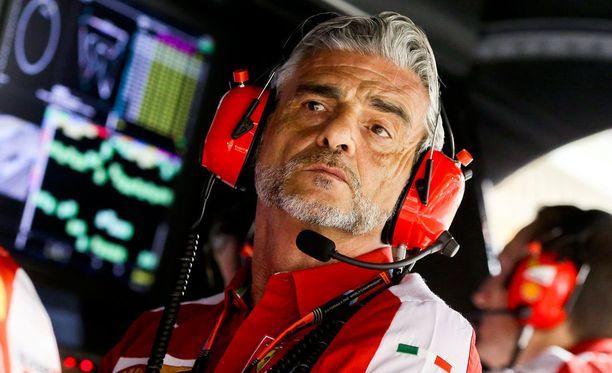 Maurizio Arrivabene hioo Ferrarin kuskisopimuksia kuntoon.
