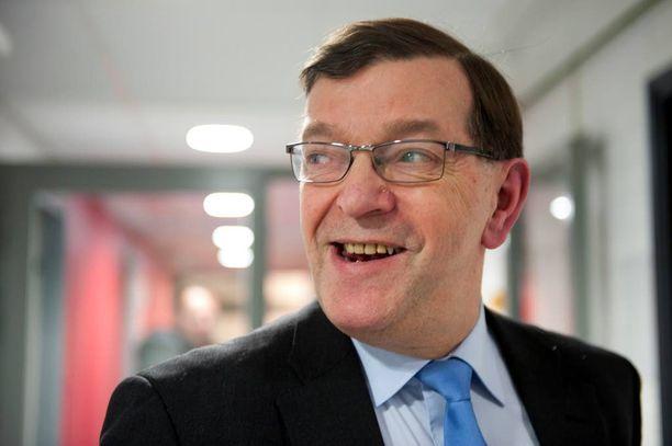Paavo Matti Väyrynen pyrki presidentiksi 2012.