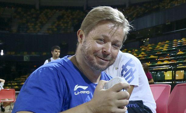 Marko Yrjövuori on ehtinyt toimia myös Suomen korismaajoukkueessa.