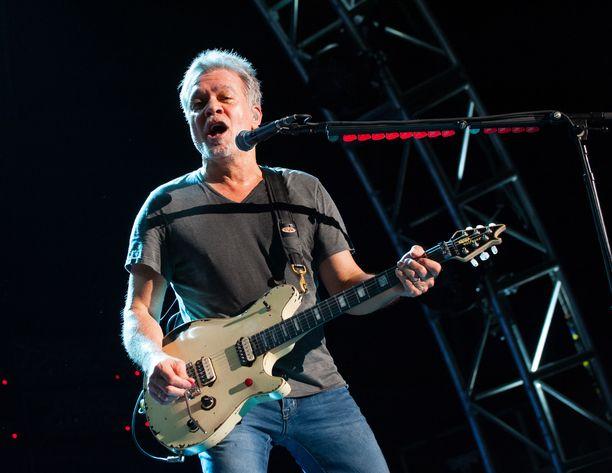 Eddie Van Halen oli kuollessaan 65-vuotias.