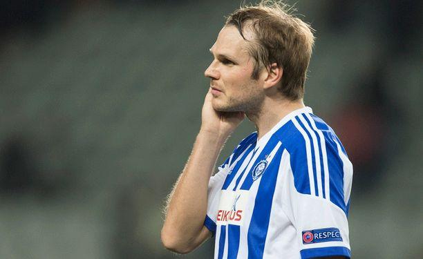 HJK:n Markus Heikkinen oli tyytyväinen pelin intensiteettiin.