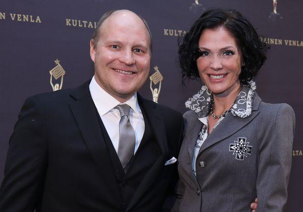 Kalle ja Riinis Palander ajautuivat erikoiseen parisuhdesoppaan.