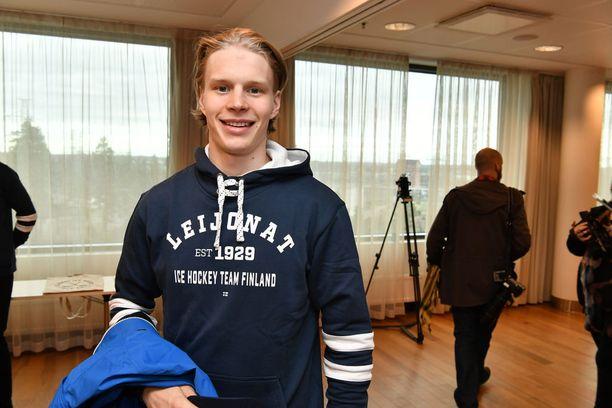 Antti Suomela edusti Suomea keväällä MM-kisoissa.