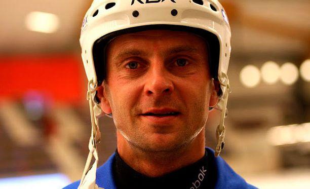 Sami Laakkonen teki yhden Suomen maaleista.