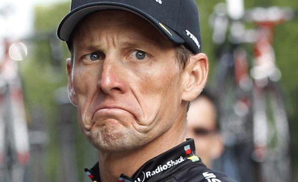 Lance Armstrongin peitetarina ei taaskaan mennyt läpi.
