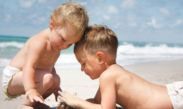 Lapsi saa itse päättää kuinka häveliäs on.