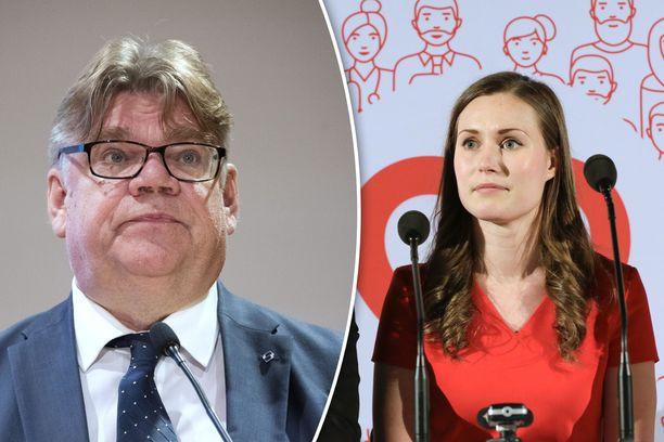 SDP:n varapuheenjohtaja Sanna Marin on pettynyt ulkoministeri Timo Soinia koskevan luottamusäänestyksen lopputuloksesta.