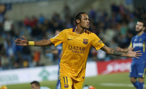 Neymar oli pelipäällä Madridin esikaupungissa.