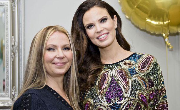 Reija Lammi ja Suvi Tiilikainen perustivat yhdessä kauneushoitolan Helsinkiin.