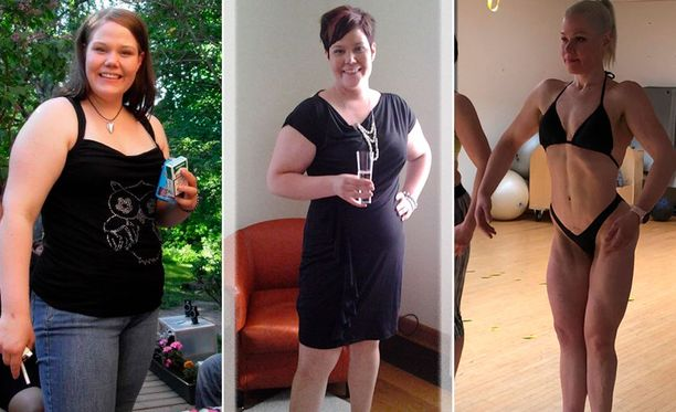 Ensimmäinen kuva vuodelta 2009, keskimmäinen 2012 ja tuorein helmikuulta 2019. 2009 ja 2012 Hölttä painoi yli 100 kiloa, nykyään paino on 65 kilossa.