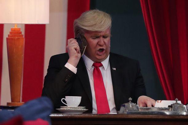 Putouksessa annettiin Donald Trumpista yksinkertainen kuva.