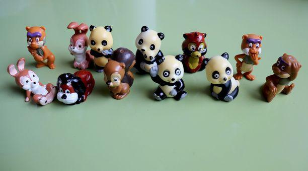 Nina Silon Kinder-lelukokoelmasta löytyy 1980-luvulta peräisin oleva Tao Tao -sarja. Tao Tao -sarjaa löytyy myynnistä Ebaysta. Hinta lähenee 100 euroa.