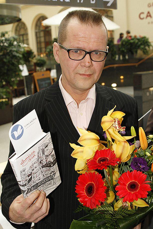Kari Hotakainen oli Finlandia-ehdokkaana vuonna 2009.
