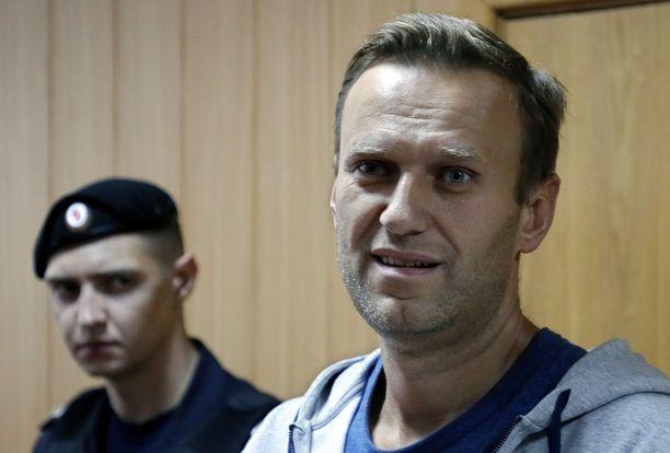 Navalnyi tuomittiin edellisen kerran vankeuteen elokuussa.