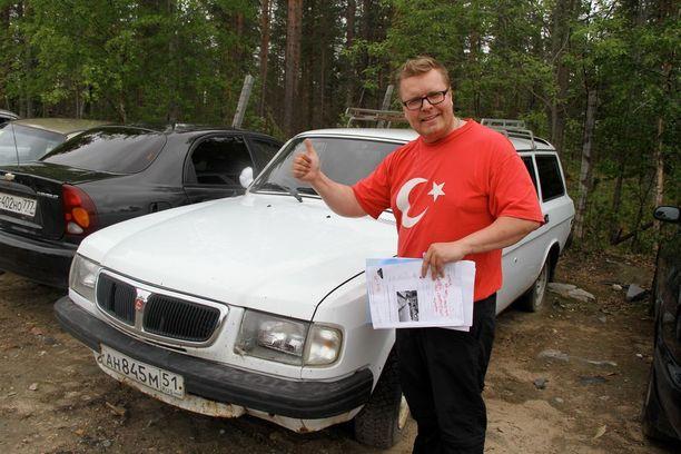 Meklari Juha Mäntykenttä tietää jo tulevan huutokaupan suurimman hittiauton. Tämä Volgan hinta saattaa nousta useisiin satoihin euroihin.