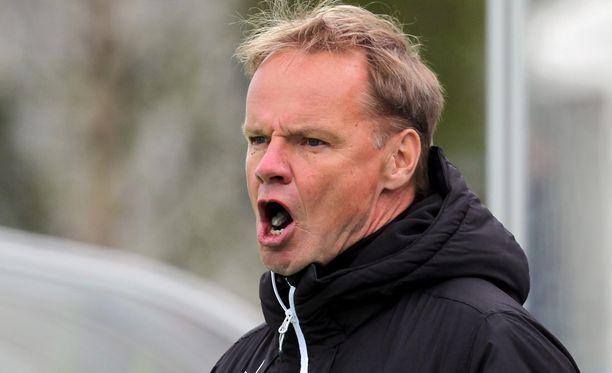 Juha Malinen löylytti omiaan pelin jälkeen.