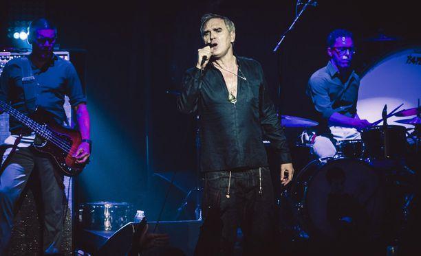 Morrissey ei saavu heinäkuussa jäähallikeikalle Helsinkiin.