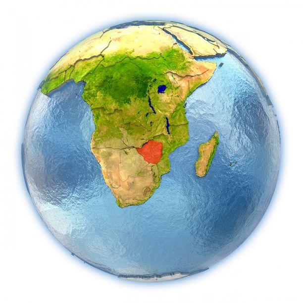 Zimbabwe sijaitsee eteläisessä Afrikassa.