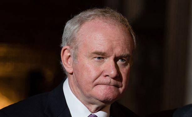 Martin McGuinness oli kiistanalainen hahmo, jota jotkut Britannian konservatiivipoliitikot eivät hyväksyneet.