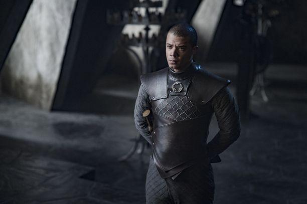 Harmaata Matoa näyttelevä Jacob Anderson joutui somekansan huomion kohteeksi.