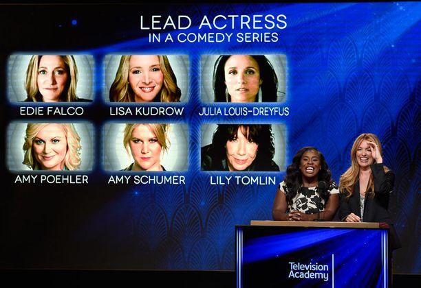 Uzo Aduba ja Cat Deeley ilmoittivat Emmy-ehdokkaat eilen 16. heinäkuuta.