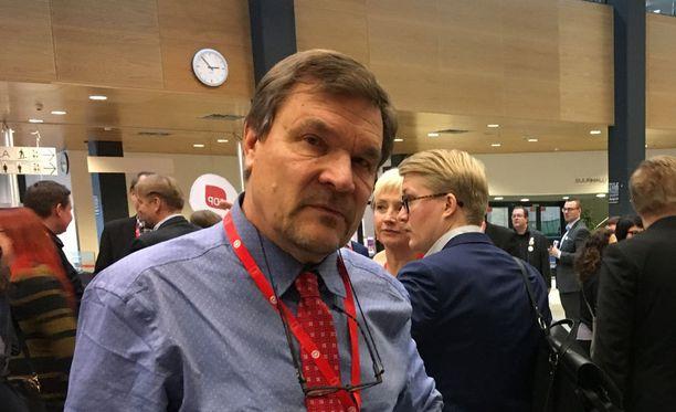 Kimmo Kiljusen mukaan 374 000 vanhuuseläkkeellä olevaa työeläkeläistä on köyhyysrajan alla.