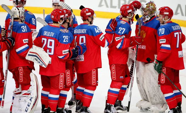 Kansainvälinen jääkiekkoliitto haluaa nähdä nämä punapaidat myös olympiajäillä.