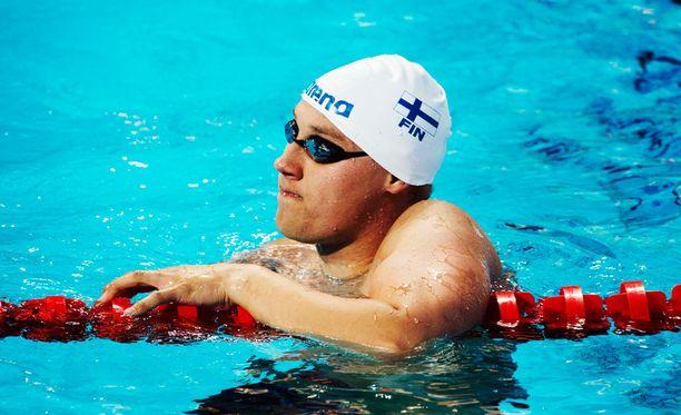 Matti Mattsson jäi viidenneksi 200 metrin rintauintifinaalissa.