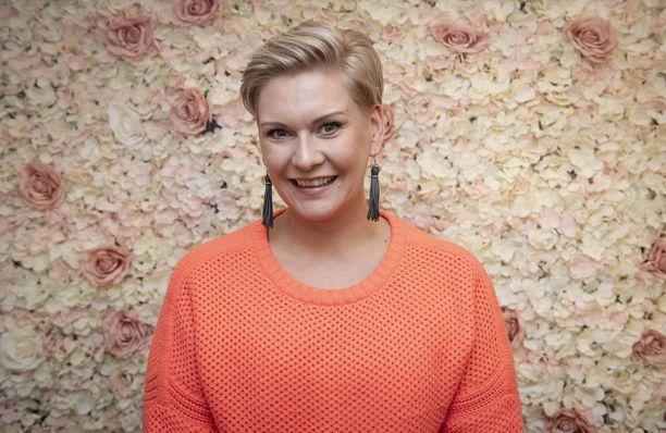 Heidi Solhberg iloitsee, kun elämässä on säpinää.