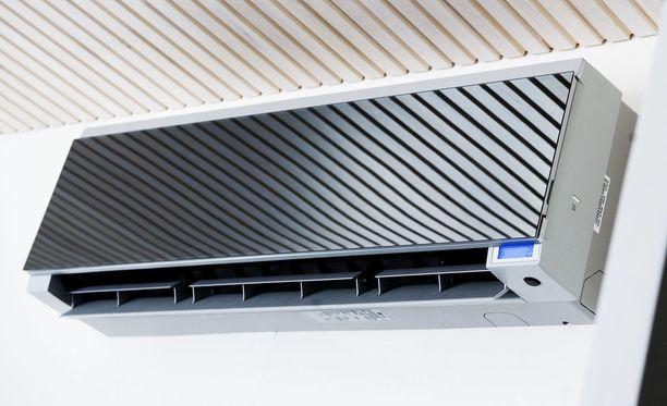 Ilmastointilaite on tyyris mutta varma tapa viilentää asunto.