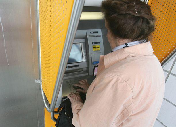 Sampo Pankin kortit eivät toimineet hetkeen automaateilla.